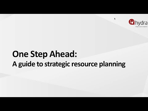 One Step Ahead  A Guide to Strategic Resource Planning