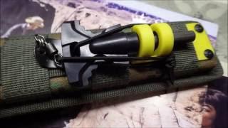 Крепление огнива на ножны kizlyar supreme с системой MOLLE своими руками(, 2016-07-14T08:23:23.000Z)