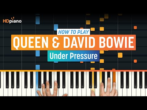 """How To Play """"Under Pressure"""" by Queen & David Bowie 