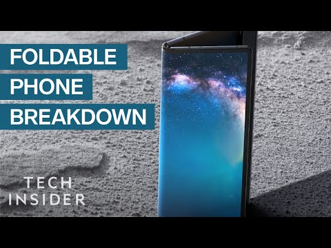 Why Everyone's Talking About Foldable Phones