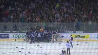 Последние секунды седьмой игры / Last moments of 2014 Gagarin Cup Game 7