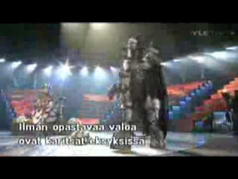 Lordi - Eurovision 2006 Winners Encore