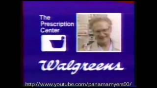 Walgreens 24 Hour Pharmacy Commercial 1989