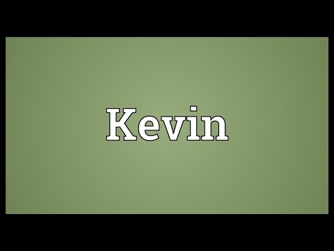 Kevin Meaning