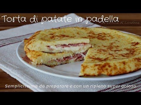 Torta di patate in padella - Semplicissima da preparare e buonissima