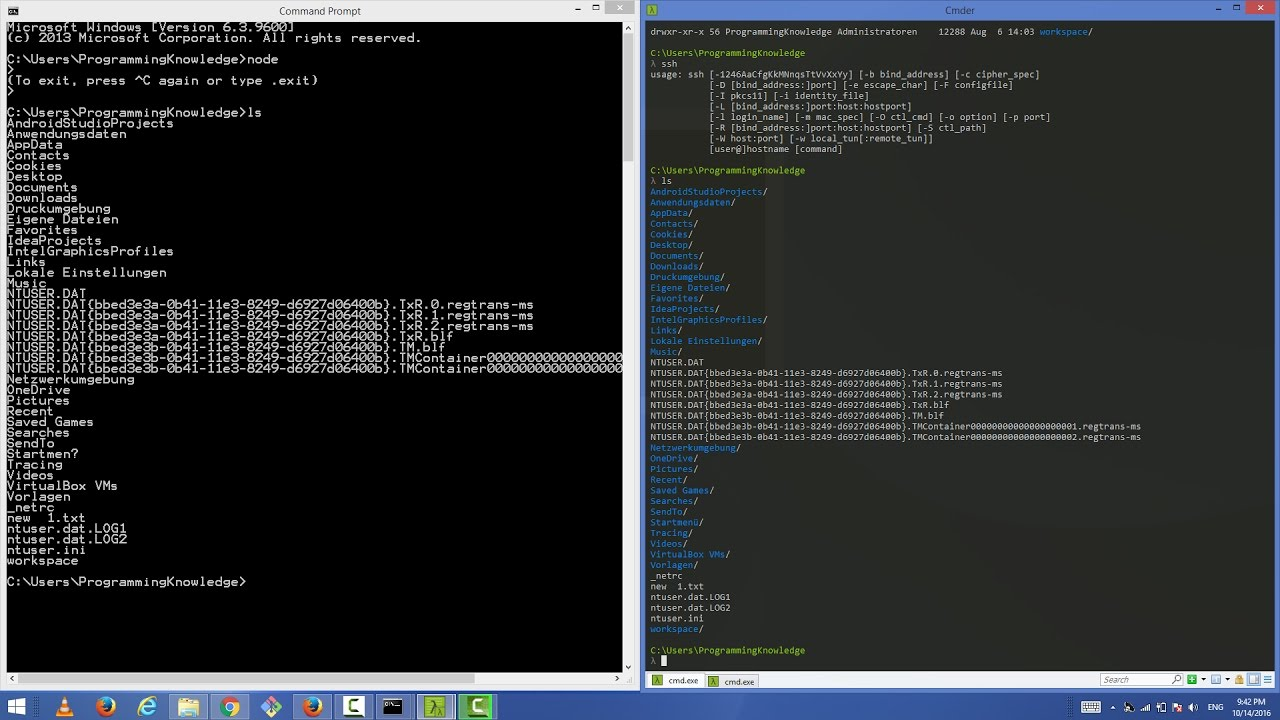 Cmder : A Better Command Prompt Tool for Windows
