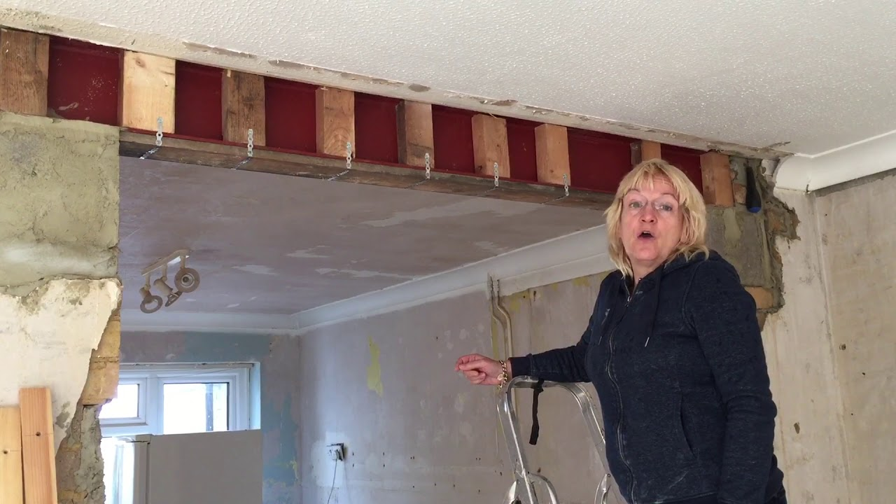 How To Attach Plasterboard To The Bottom Of A Lintel Or