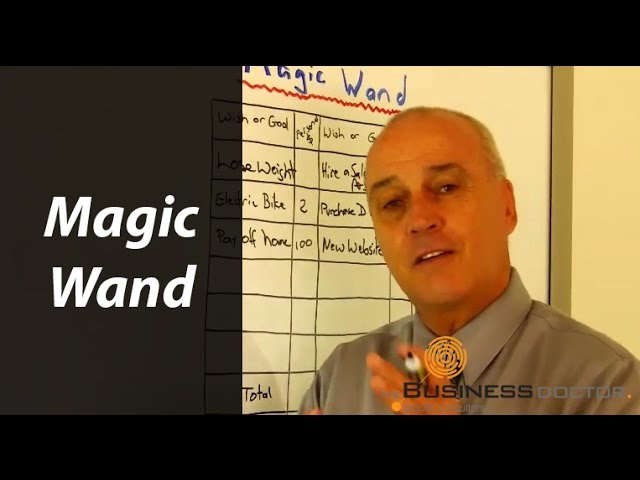 Magic Wand Tool - The Business Doctor