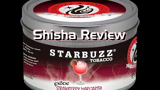 Shisha Review - Starbuzz, Strawberry Margarita