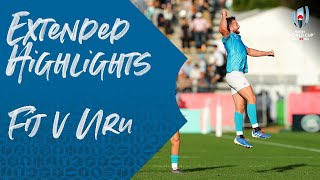 Extended Highlights: Fiji 27-30 Uruguay - Rugby World Cup 2019
