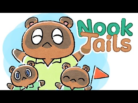【Animal Crossing: New Horizons Comic Dub】- Nook Tails + More