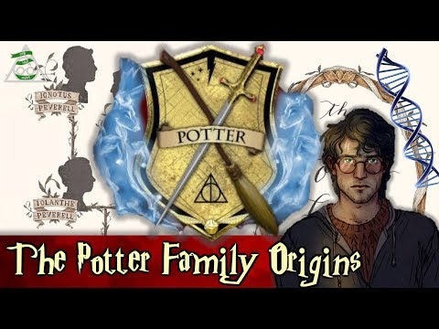 The Potter Family Origins + Explantion of The Magical Bloodlines