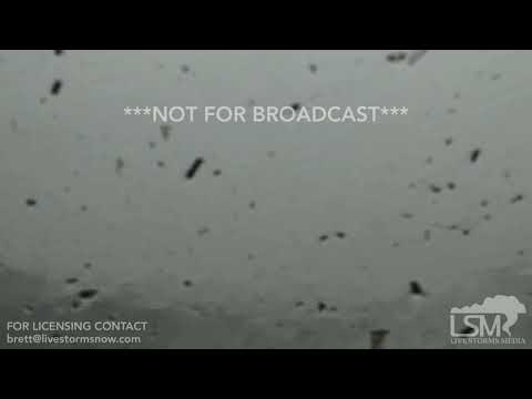10-10-18 Mexico Beach, FL - Hurricane Michaels Storm Surge Inundates Chasers Vehicle