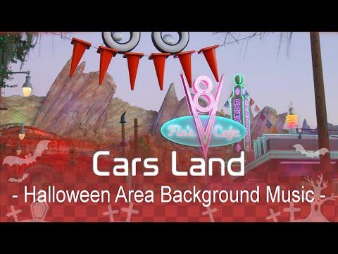 Cars Land - Halloween Area Background Music