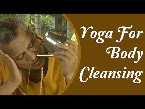Yoga & Body Cleansing: Jal Neti, Sutra Neti, Kunjal Kriya | Yoga Tutorial In Hindi