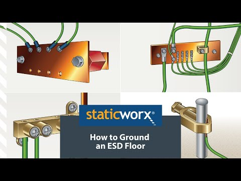 How To Ground An ESD Floor