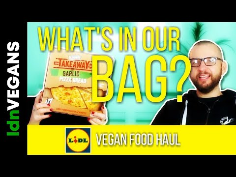 What's In Our Lidl Vegan £10 Budget Food Haul Bag? || LDN Vegans