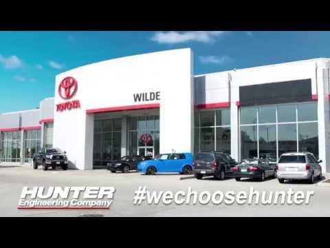 Wilde Toyota Chooses Hunter Engineering Quick Tread Wechoosehunter