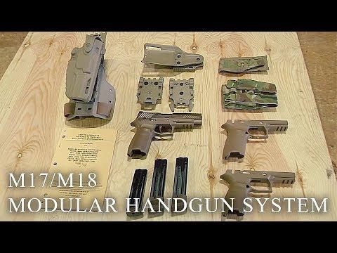 101st Airborne Fields Army's New Sidearm: Modular Handgun System