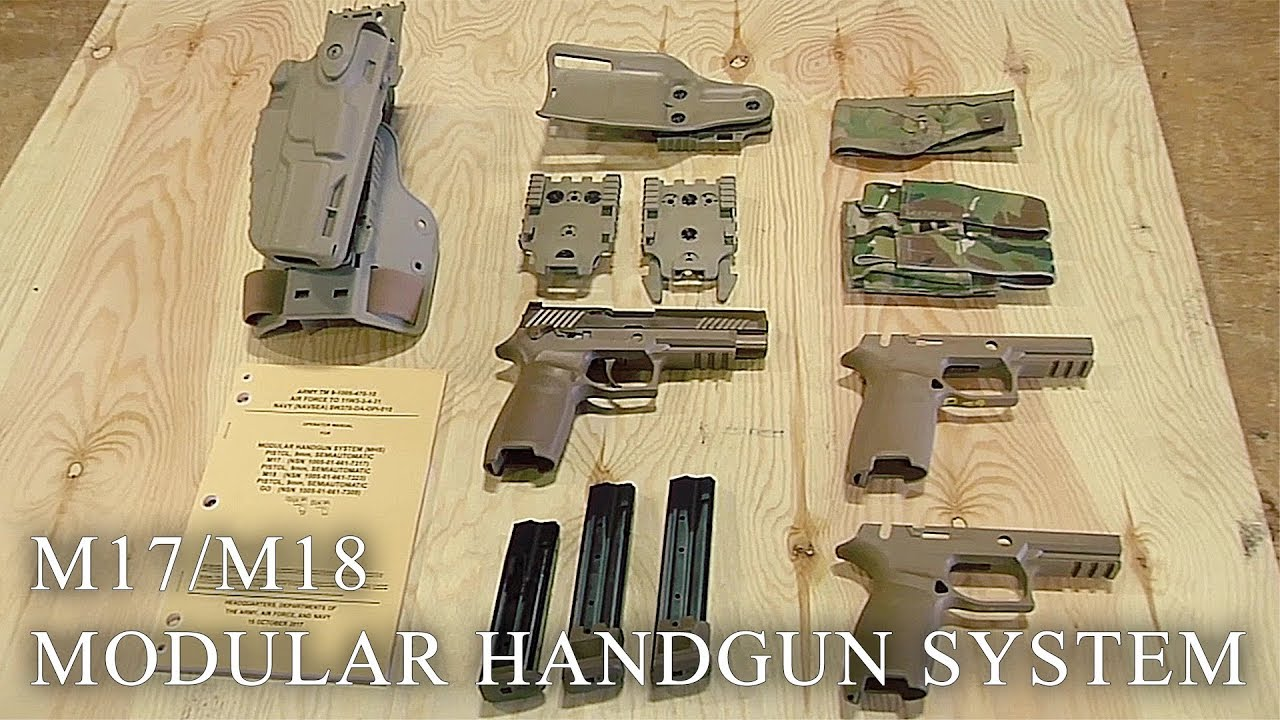 The Army's New Modular Handgun Is Heading Out to the Field