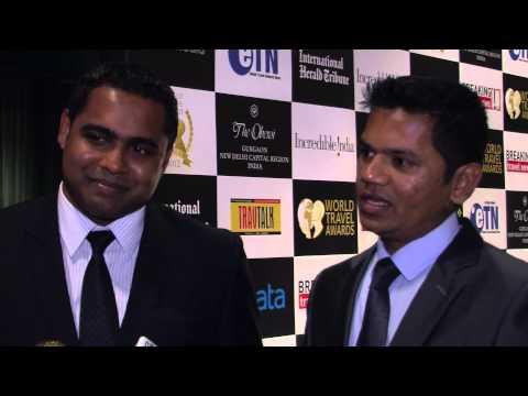 Kiran Sonawane & Shuhan Ahmed, Baros Maldives, at World Travel Awards Grand Final 2012