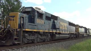 Dead train rescue LHF CSX 2775 Y102 brings in J782