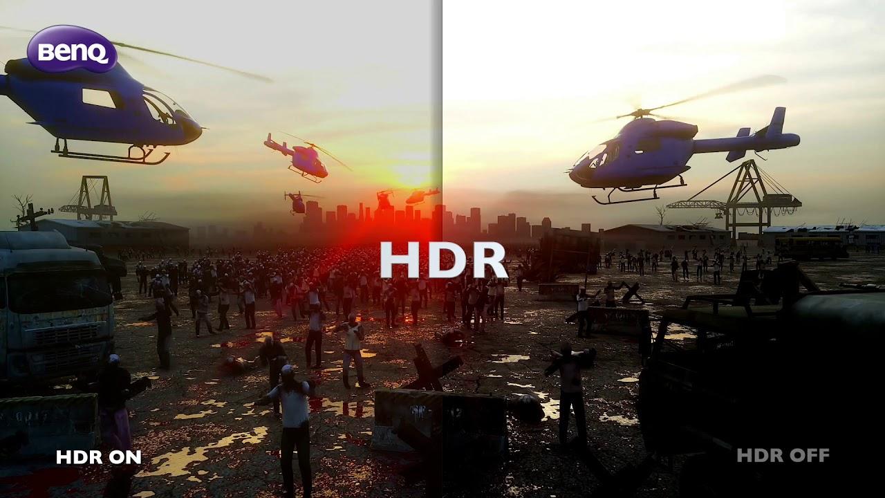 "BenQ EL2870U 28"" 4K HDR 1ms Gaming Monitor with B I +"