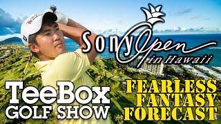 The TeeBox Fearless Fantasy Forecast: 2021 Sony Open in Hawaii