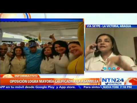 VIDEO: MADURO PERDIÓ AL PUEBLO EN LA CALLE, NO TIENE EL PODER: DIPUTADA 112 DE LA MUD