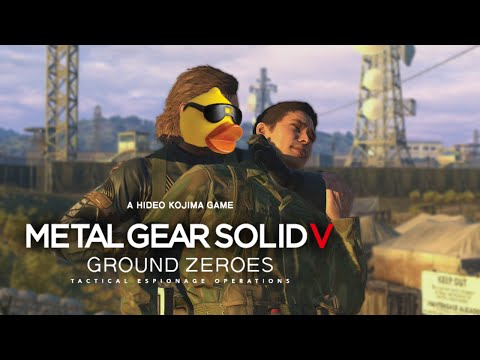Metal Gear Solid V - Ground Zeroes   Tell Me Something about Yourself!   Hideo Mod Part 1  