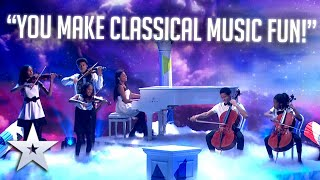 The Kanneh-Masons REINVENT classical music! | Live Shows | BGT