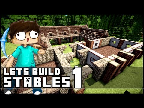 minecraft lets build mountain house part 1 funnycat tv