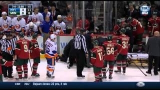 Keith Ballard Injury vs Islanders 12/09/14