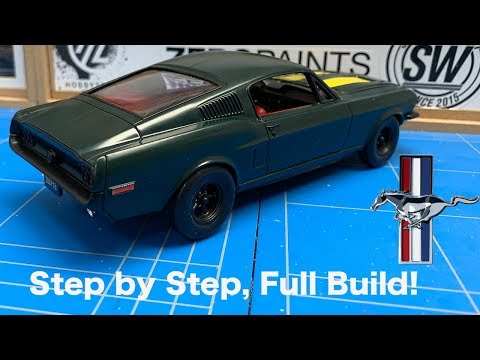 Revell: 1968 Ford Mustang GT 2 in 1 Full Build Step by Step