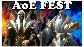 Grubby | WC3 Reforged | AoE FEST!