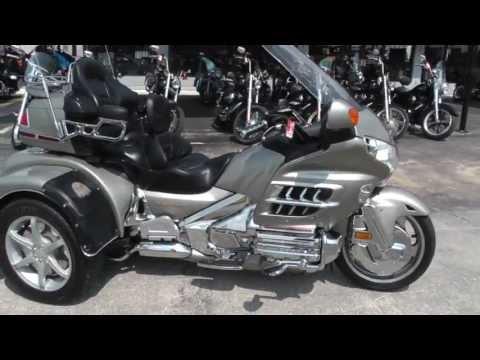 205720 - Used 2003 Honda Goldwing Trike GL1800 Motorcycle For Sale