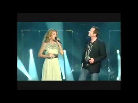 Céline Dion & Francis Bernier & Garou ( Sous Le Vent 2007 )