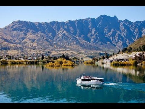 Million Dollar Cruise in Lake Wakatipu - Queenstown, New Zealand