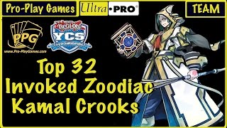 YCS Atlanta Top 32 - Kamal Crooks - Invoked Zoo
