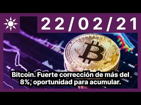 Bitcoin. Fuerte Corrección De Más Del 8%, Oportunidad Para Acumular.