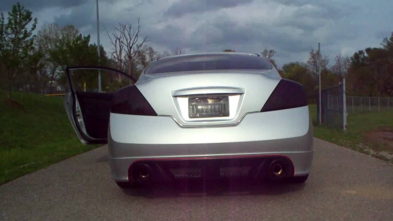 Nissan Altima Coupe New Custom Exhaust Drive Off Youtube