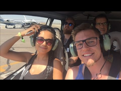 LANDING IN GRAND CANYON - Helicopter Tour - US VLOG #4