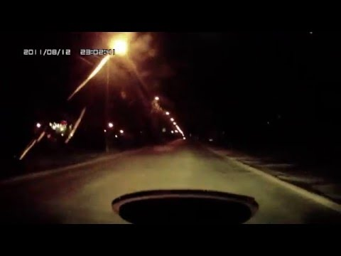 видеорегистратор Mystery MDR-800HD , ночь