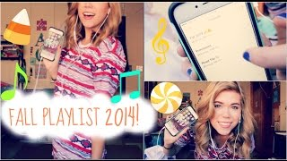 Fall Playlist 2014 // Makeupkatie95 Thumbnail