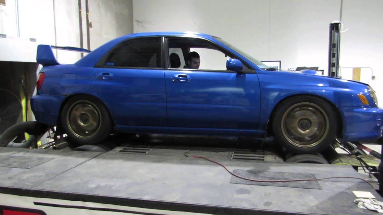 EJ207 Swapped Bugeye 300HP - YouTube