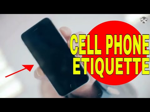 Cell Phones | Mobile Phone Etiquette - How To Follow Cell Phone Etiquette | All You Need To Know