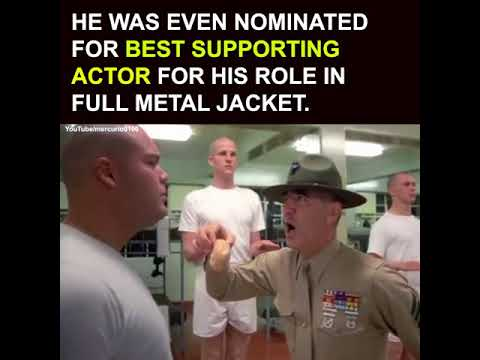 Full Metal Jacket Star R Lee Ermey Dead At 74 Youtube