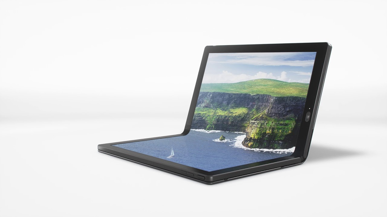 Hands-On with Lenovo's Folding OLED Screen ThinkPad X1 Laptop