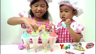 Mainan Anak Ice Cream LOLLY Maker 💖 Cara Membuat Es Krim LOLLY Enaak 💖 Let's Play Jessica Jenica