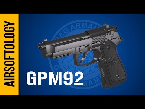 G&G's GPM92 - A New Era for Gas Blowback Pistols? | Airsoftology Review